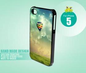 HP204B Balloon Fly Away - iPhone 5 Black Case